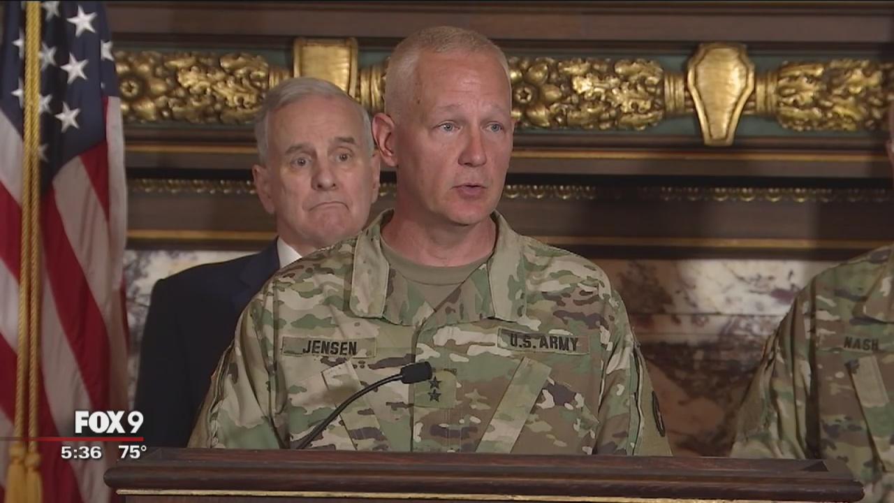 Dayton appoints new adjutant general of minnesota national - Dayton home and garden show 2017 ...